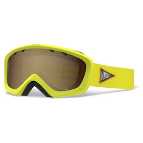 Giro Chico Goggles Kinder namuk yellow/amber rose